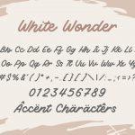 White Wonder 6