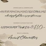 Galaksie Modern Calligraphy Font6