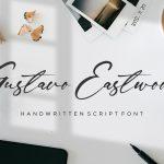 Gustavo Eastwood Handwritten Script Font1
