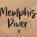 Memphis River Modern Handwritten Font1
