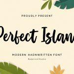 Perfect Island Modern Handwritten Font1