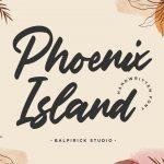 Phoenix Island Handwritten Font1