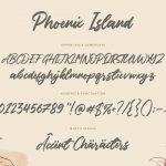 Phoenix Island Handwritten Font6