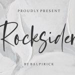 Rocksider Modern Handwritten Font1