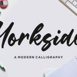 Yorkside Modern Calligraphy Font1