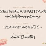 Yourladies Modern Handwritten Font6
