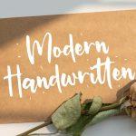 Miguelito Modern Handwritten Font2